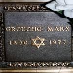 Lápida Groucho Marxs